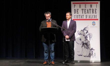 Pau Alabajos guanya la XLV edició del Premi de Teatre Ciutat d'Alcoi