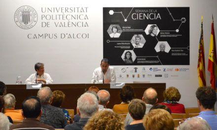 Semillas y arqueología en la Semana de la Ciencia del Campus de Alcoy de la UPV con la conferencia de Leonor Peña-Chocarro