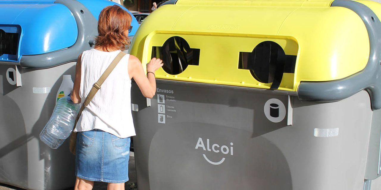 Alcoi rep més de 300.000 euros pel reciclatge de residus