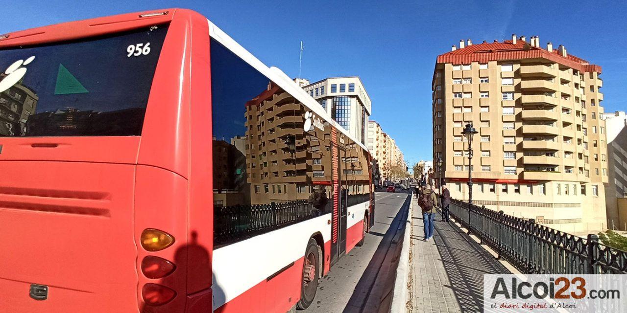 Guanyar Alcoi vol que el servei de transport urbà torne a ser públic