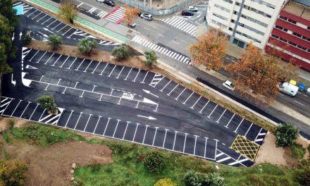 """L'ajuntament habilita noves zones d'aparcament a l'entorn de l'antiga """"via"""""""