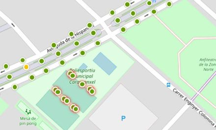 El Poliesportiu de Caramanxel també es fa Smart City