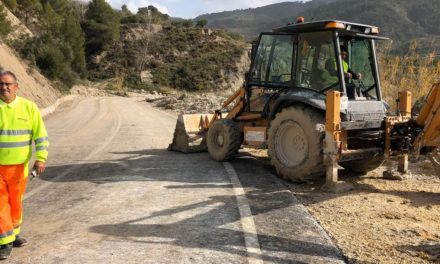 Diputación sube a 250.000€ las ayudas urgentes para la apertura de caminos afectados por el temporal