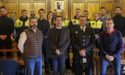 Alcoi realitza la incorporació més alta d'efectius de policia local dels últims anys