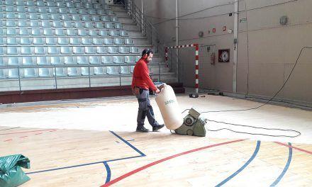 S'inicien els treballs de restauració del pavelló Mutua Levante