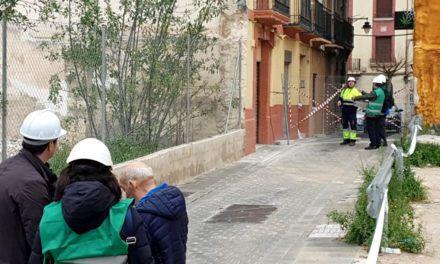 Els experts en estructures comencen la revisió dels edificis del centre d'Alcoi