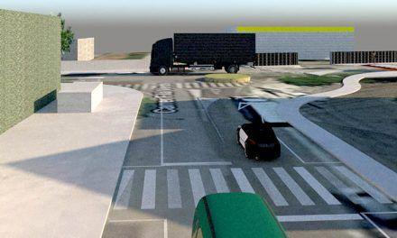 Comencen les obres de la nova rotonda del carrer filà Verds