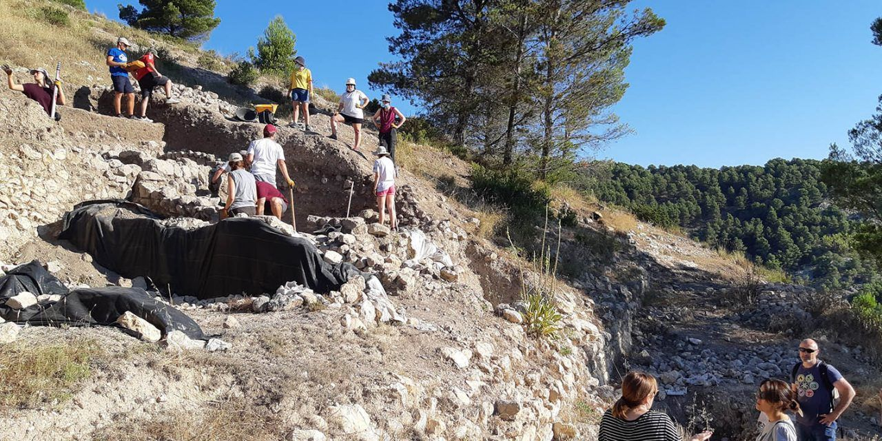 Les excavacions del Castellar d'Alcoi tornen per cinqué any consecutiu