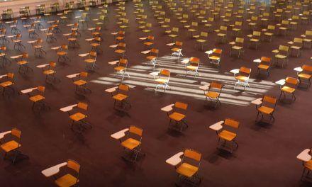 El Pabellón Deportivo del Campus de Alcoy de la UPV se convierte en una gran aula con capacidad para 330 estudiantes