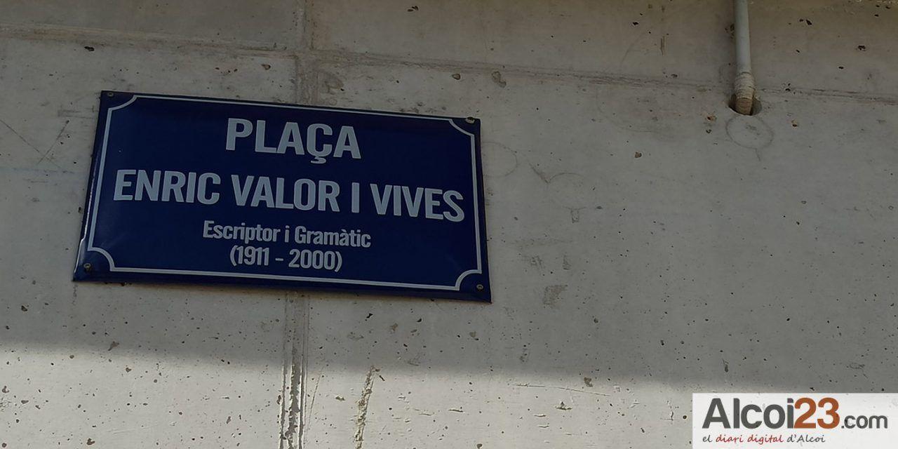 Compromís Alcoi demana que Enric Valor no quede en l'oblid