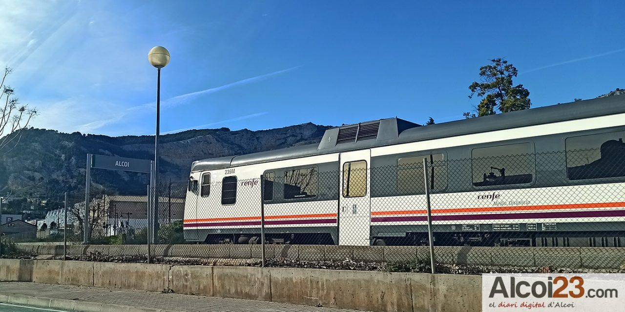 Joves PV – Compromís es posiciona a favor de la millora del tren Alcoi-Xàtiva