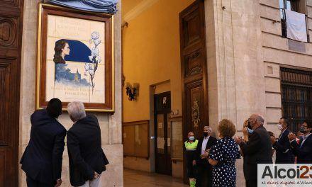 FOTOS I VÍDEO | El cartell d'Ignacio Trelis ja anuncia el dies grans de les Festes en honor la Mare de Déu dels Lliris