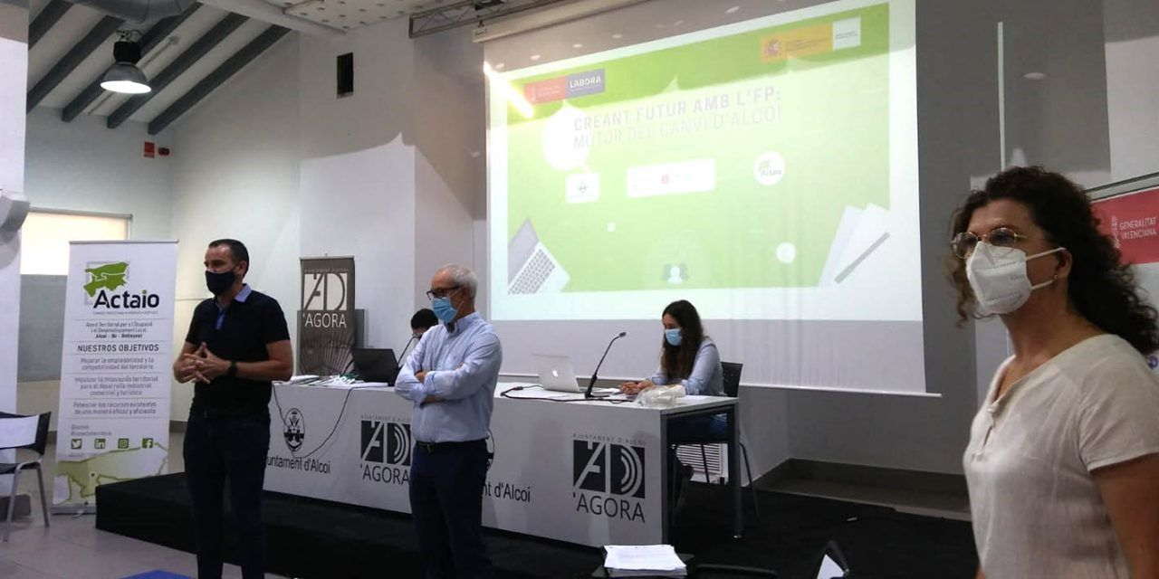 L'Àgora acull la jornada 'Creant futur amb l'FP motor de canvi d'Alcoi'