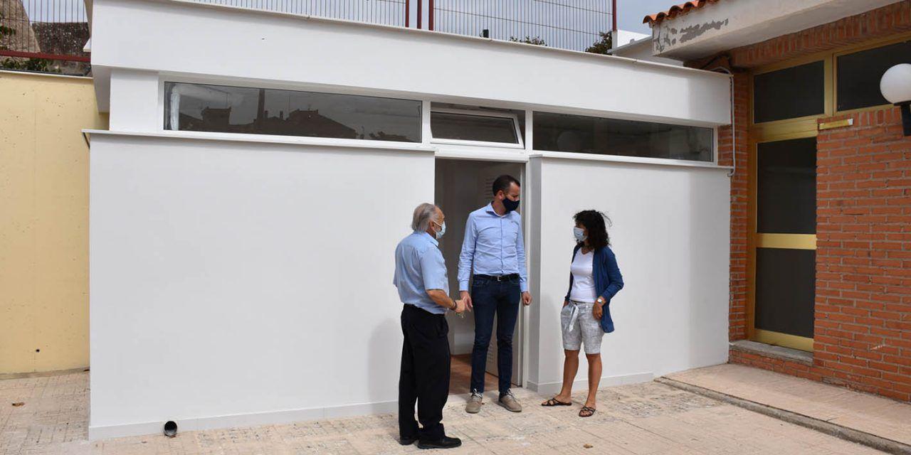 FOTOS | Finalitzen les obres en el CEIP Sant Vicent dins del pla Edificant
