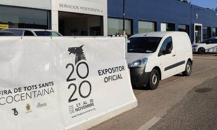 Els expositors oficials Fira de Cocentaina 2020 ja tenen el material promocional distintiu visible en els seus establiments