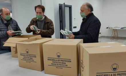 La Mancomunitat El Xarpolar compra 7.000 mascarillas temperatura a Colorprint Fashion para repartir entre sus municipios