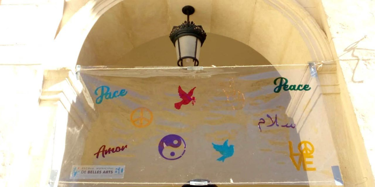 L'alumnat d'Alcoi celebra virtualment el Dia de la Pau