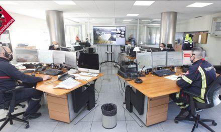 El Consorcio de Bomberos resalta la importancia del servicio del 1·1·2 durante la pandemia