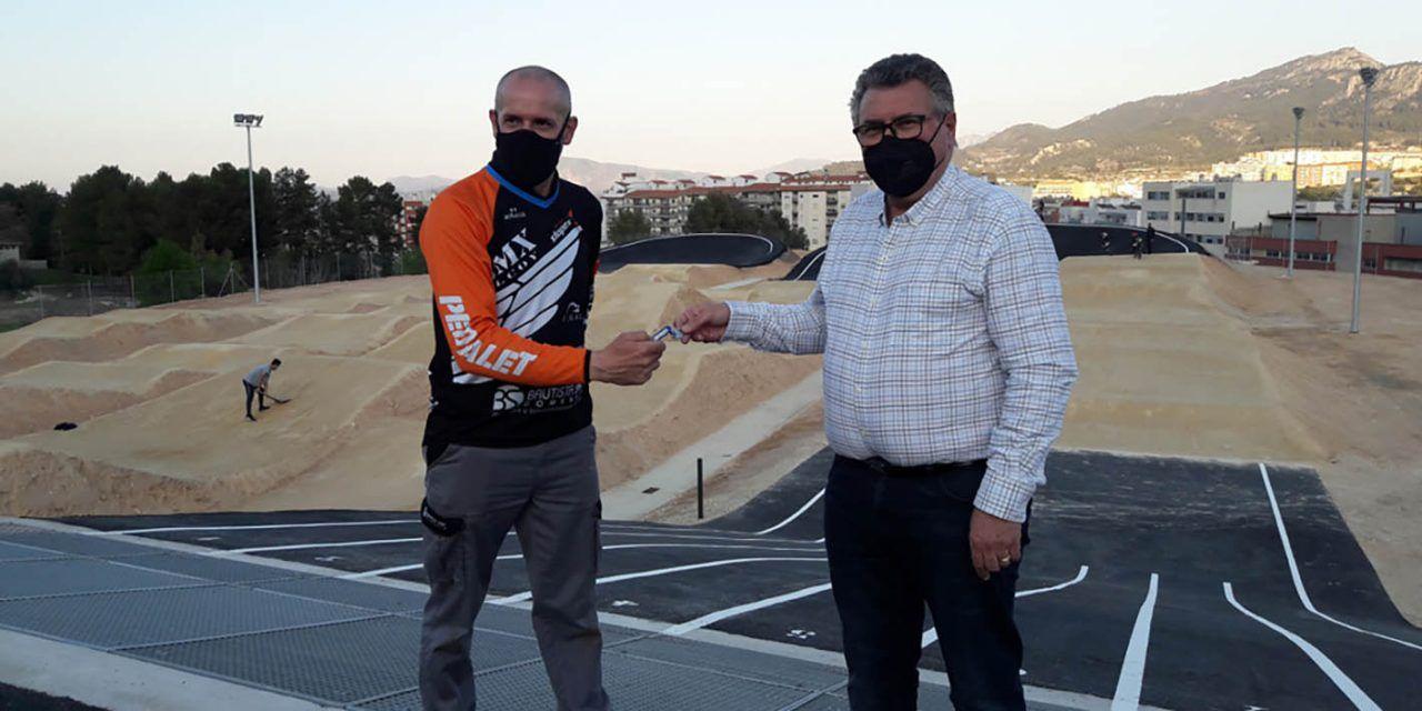 Alcoi finalitza la construcció del circuit BMX