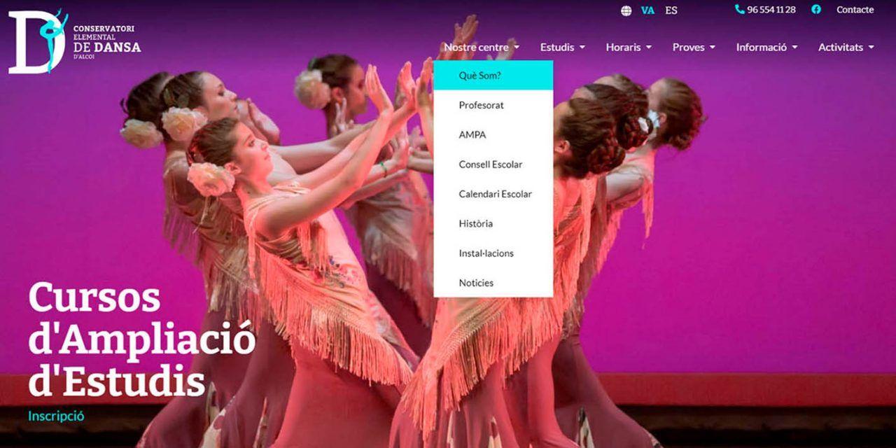 El Conservatori de Dansa d'Alcoi estrena web