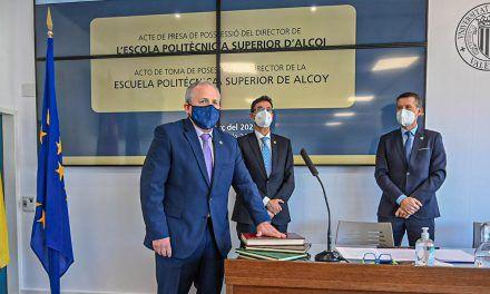 VÍDEO | Pablo Andrés Bernabeu Soler pren possessió del seu càrrec com a director de l'Escola Politècnica Superior d'Alcoi