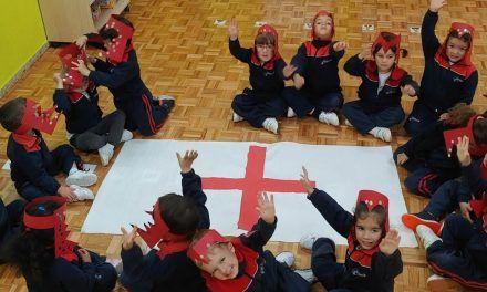 El Col·legi Esclaves SCJ Alcoi celebra el dia de Sant Jordi
