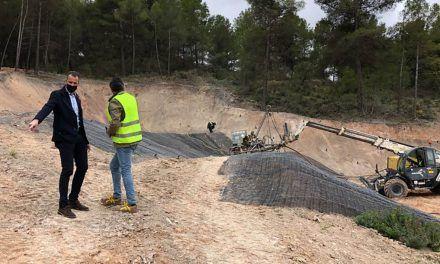 En marxa la segona fase de les obres d'estabilització de terres del Polígon Santiago Payá
