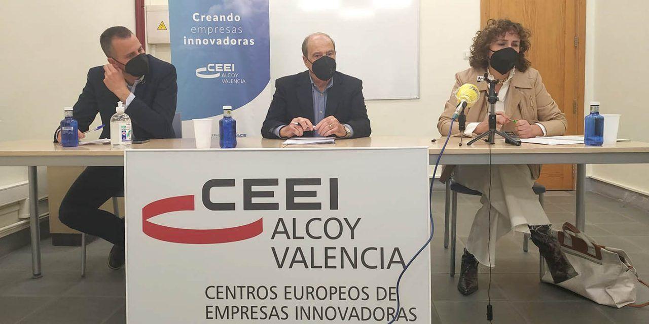 El CEEI Alcoy-València presenta el balance de su actividad durante 2020