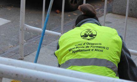 Alcoi posarà en marxa tres plans d'ocupació dotats amb 423.000 euros