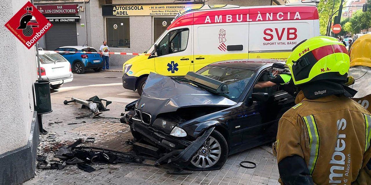 Presó preventiva per a la conductora de l'accident de trànsit mortal del carrer València
