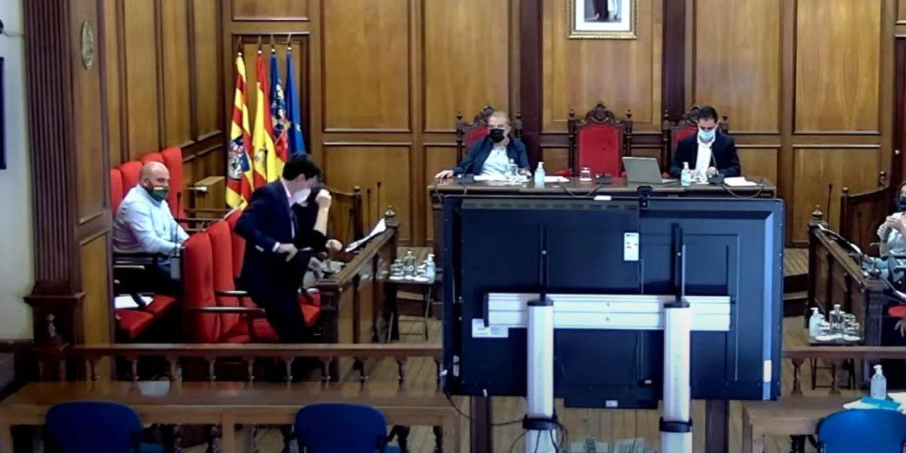 Bronca entre PSOE y PP en el Pleno por la campaña 'Viure al Centre'