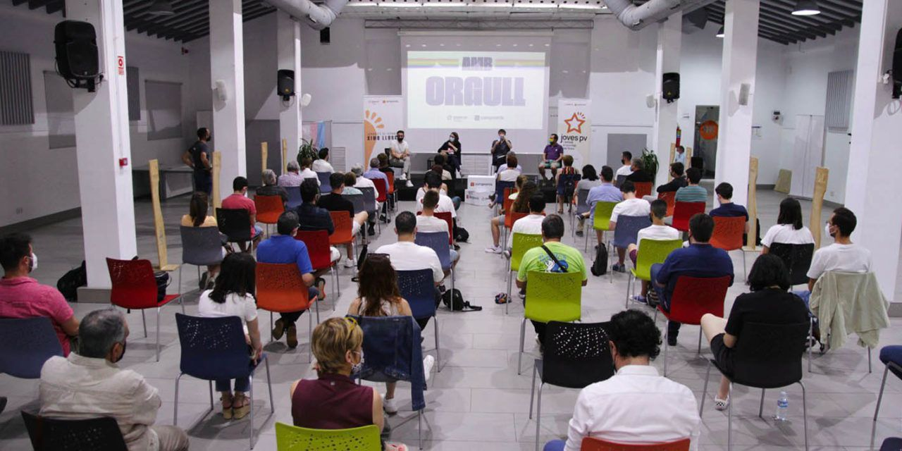 Gran participació a les jornades LGTBI de Joves PV a Alcoi