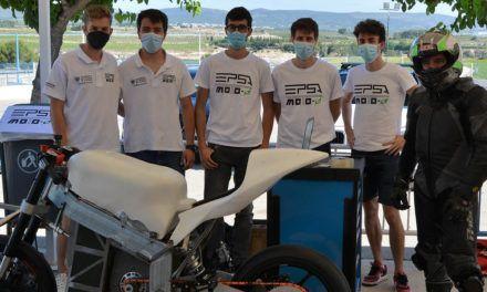 VÍDEO | El grup de Generació Espontània, EPSA Moto-e, participa en la competició internacional 'Motostudent'