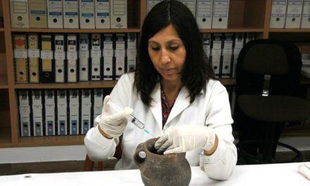 El Museu Arqueològic d'Alcoi culmina la restauració del Vas de l'Orant