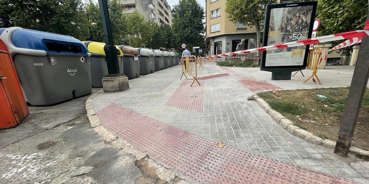 L'EDUSI millora l'accesibilitat en diversos barris d'Alcoi
