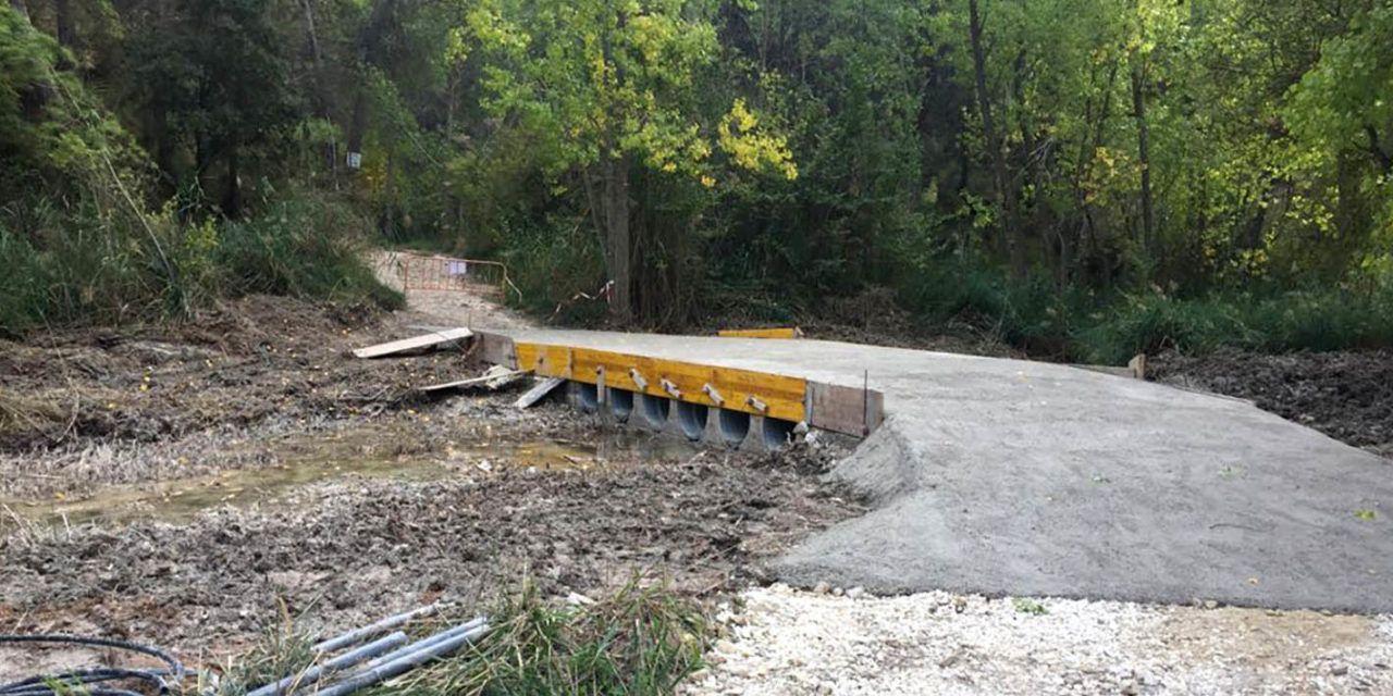 L'Ajuntament d'Alcoi construeix un pas per a vehicles d'emergència prop del Racó de Sant Bonaventura